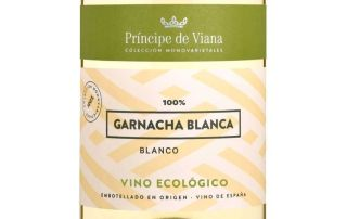 botella Príncipe de Viana Garnacha Blanca ecológico Akatavino Magazine