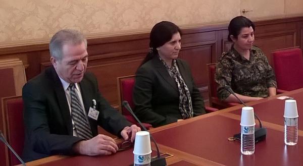 Le PYD reçu à l'Assemblée nationale le 12/2/15