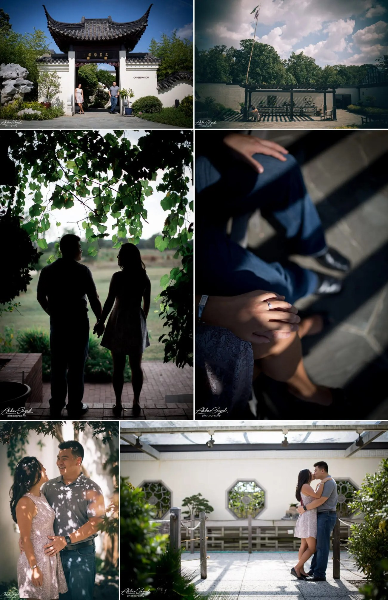 Andrea and Thuan - National Arboretum Engagement Shoot 6