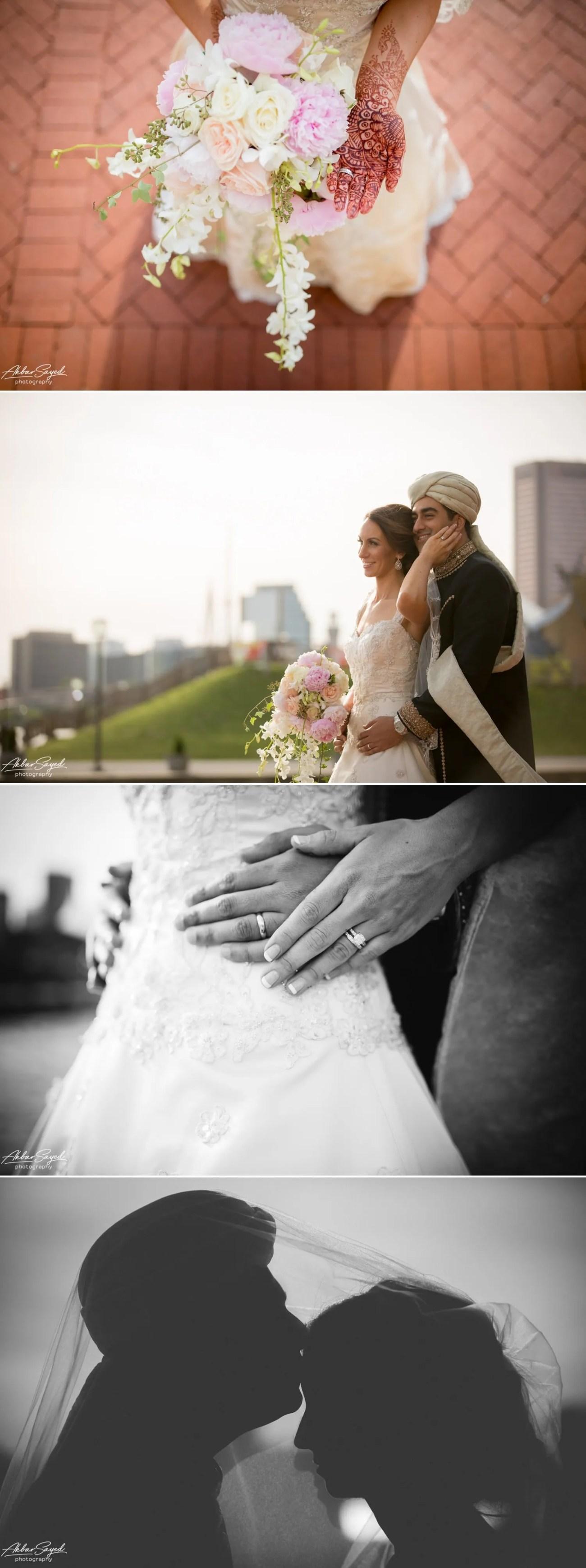 Kathleen and Ali - Baltimore Marriott Waterfront Wedding 12
