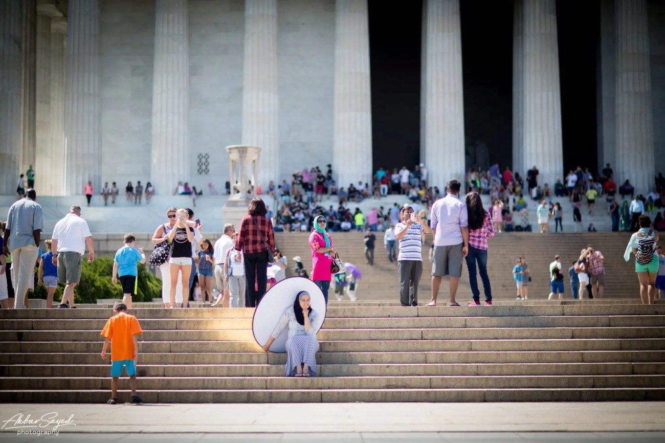 Asad and Sehar - National Mall Bridal Party Portraits 6
