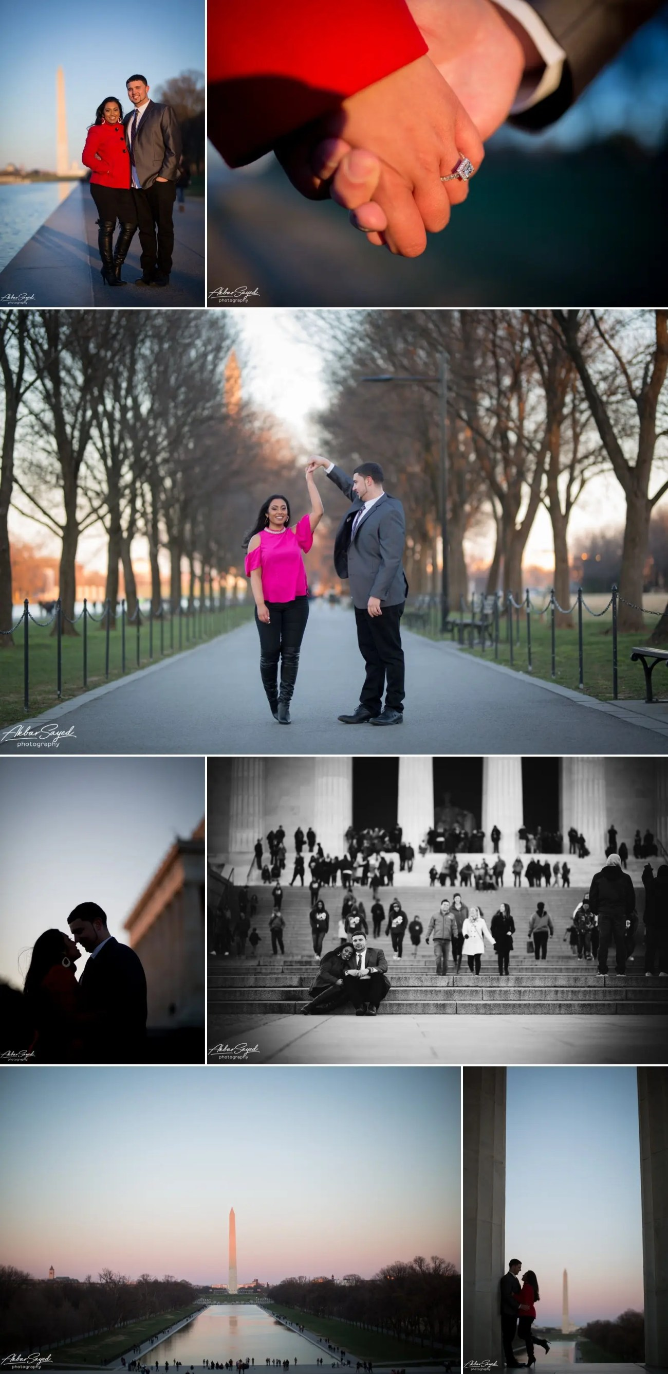 Shivana and Spencer - DC Engagement Session 6