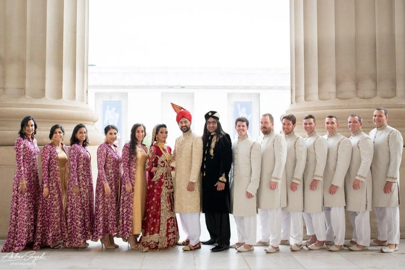 Memona and Salman | Pakistani Andrew W. Mellon Auditorium Wedding 84