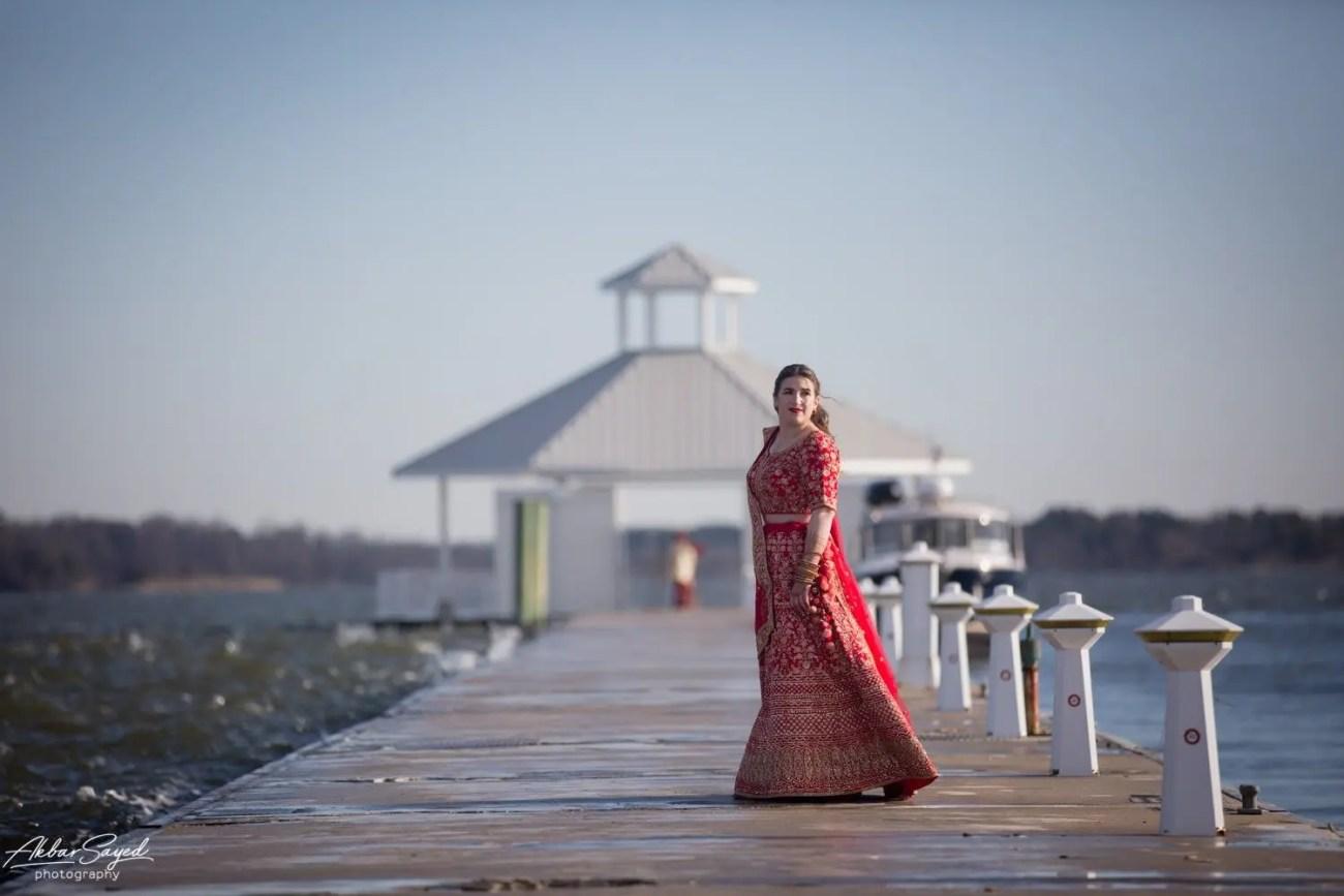 Cassie and Kishan | Hyatt Chesapeake Bay Jewish Hindu Fusion Wedding 77