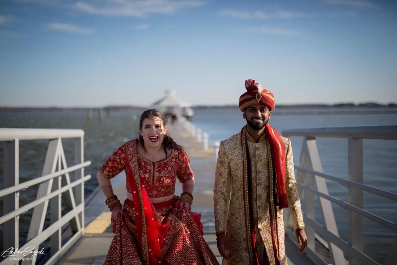 Cassie and Kishan | Hyatt Chesapeake Bay Jewish Hindu Fusion Wedding 81