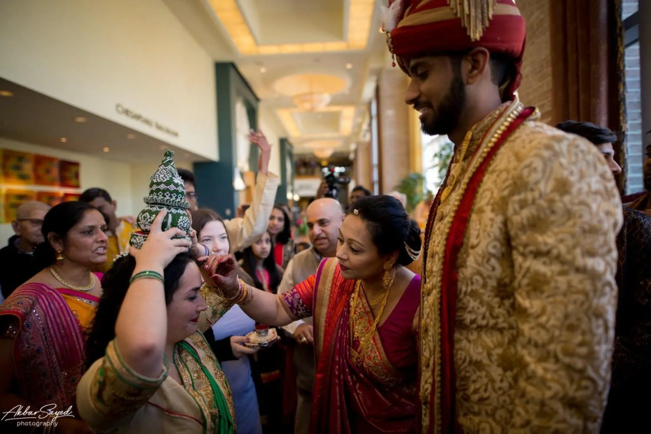 Cassie and Kishan | Hyatt Chesapeake Bay Jewish Hindu Fusion Wedding 95