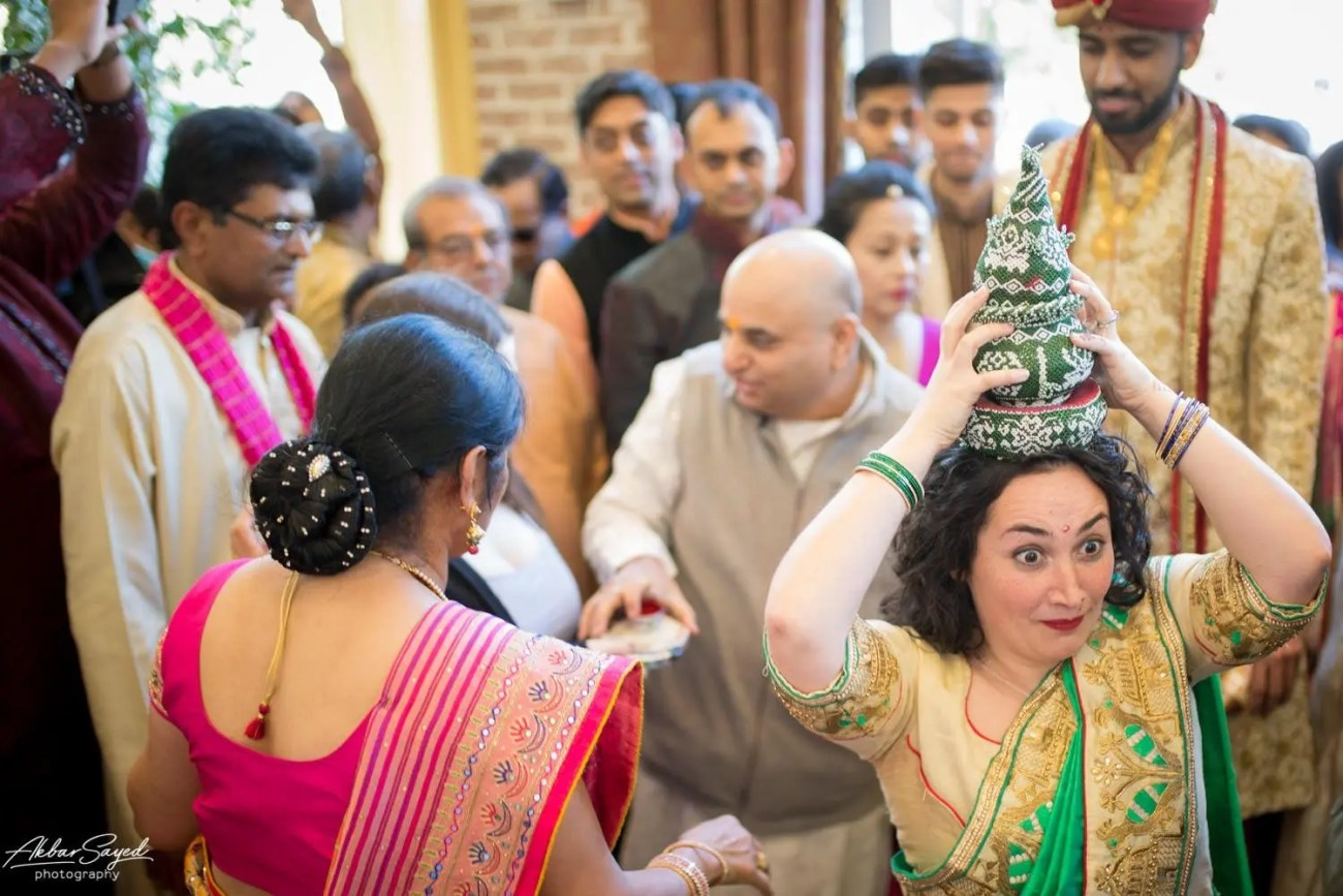 Cassie and Kishan | Hyatt Chesapeake Bay Jewish Hindu Fusion Wedding 96