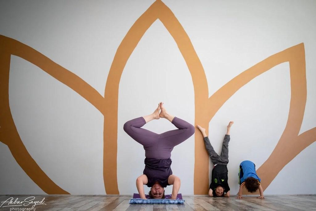 Family Yoga Portraits at Five Peaks Yoga 16
