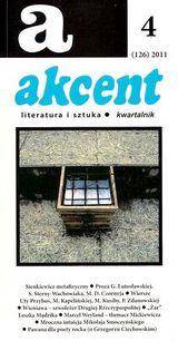 Akcent nr 4/2011