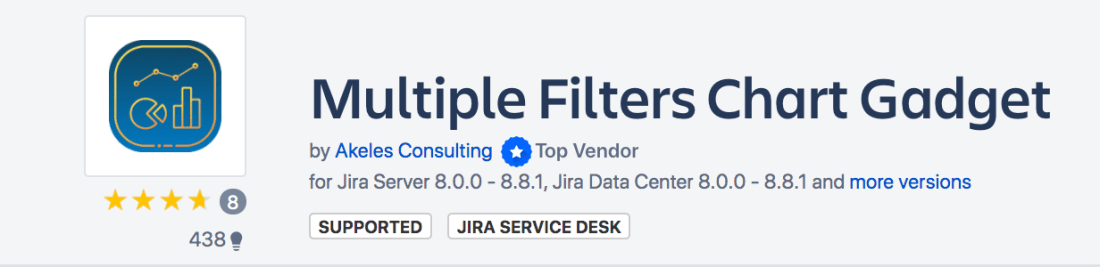 Best Practices on Multiple Filters Chart Gadgets Marketplace Listing