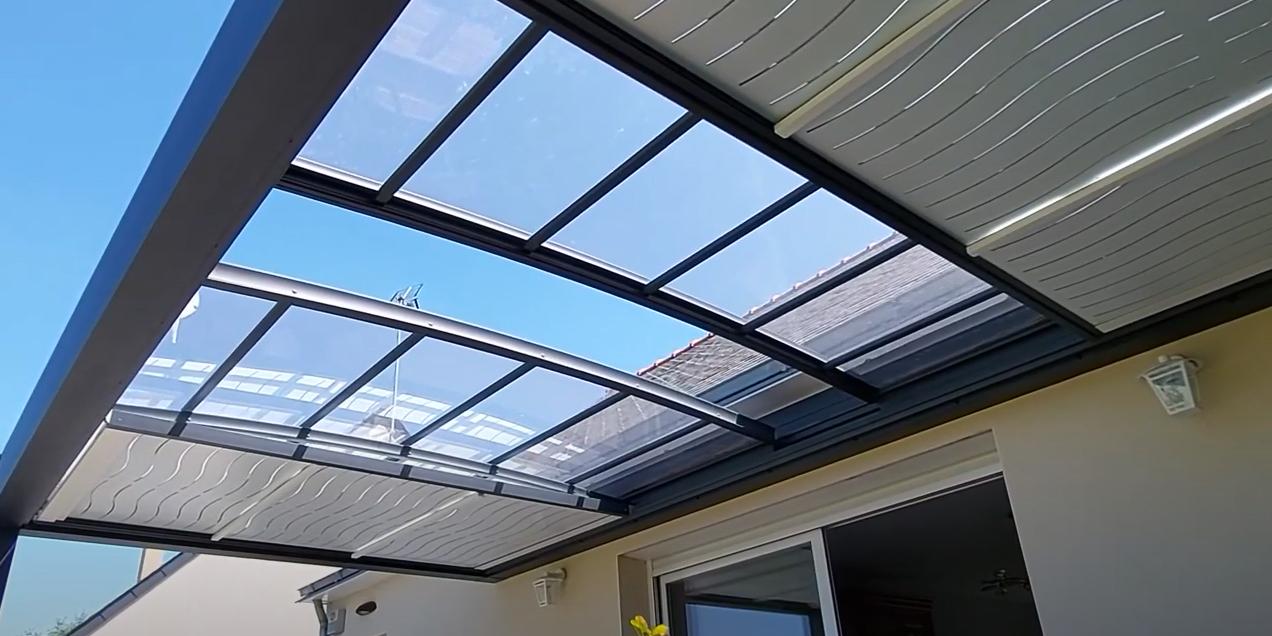 pergola retractable a toit ouvrant