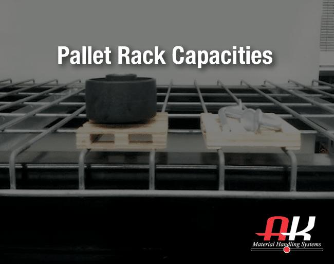 calculating pallet rack capacity needs
