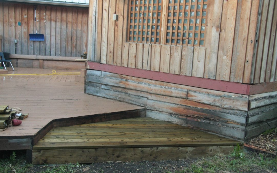Deck – New Step!