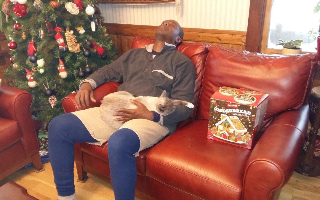 Kwesi and Stanley