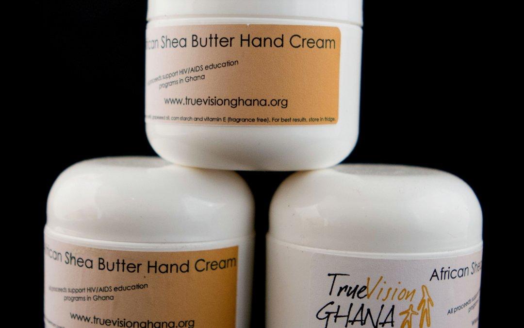 Shea Butter Hand Cream – True Vision Ghana