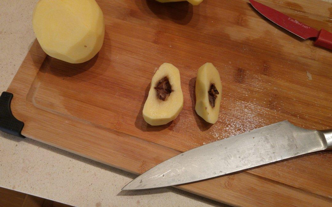 Potato hollow heart