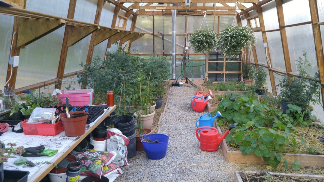 Main greenhouse
