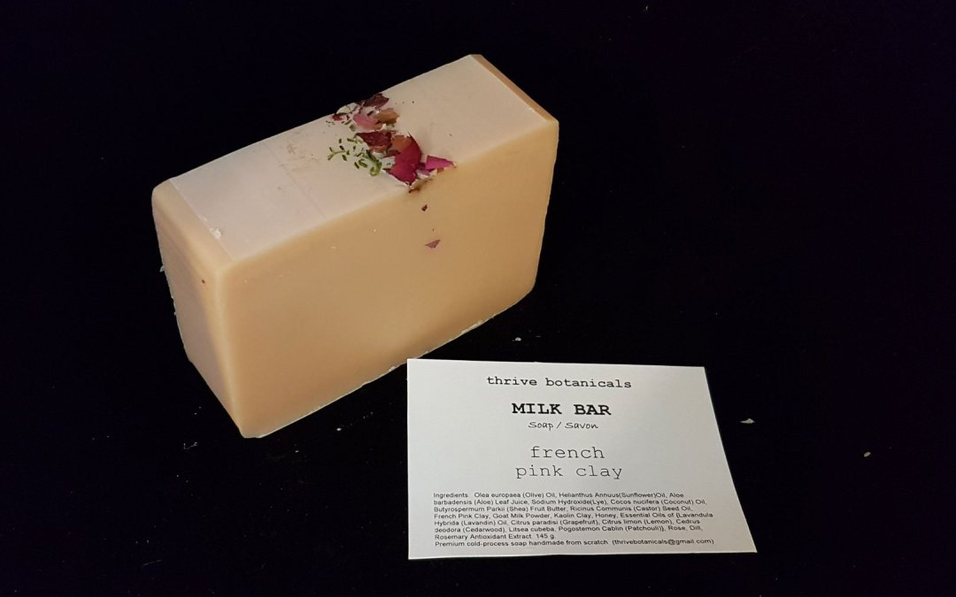 Thrive Botanicals Soap – 2020