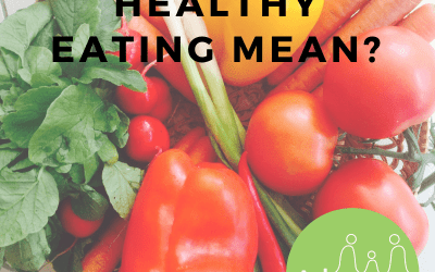 Healthy eating, eating for health, what does it mean?