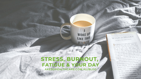 stress burnout & fatigue