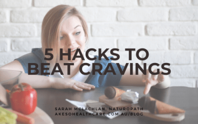 5 (easy) hacks to beat cravings