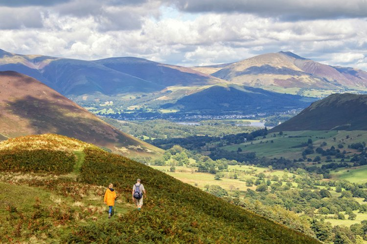 Walkers on High Snab Bank
