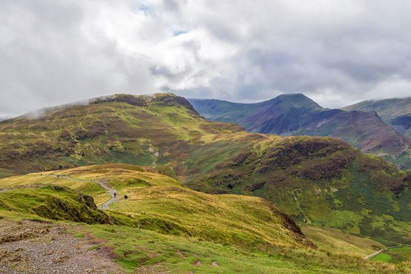 View from Catbells towards High Spy