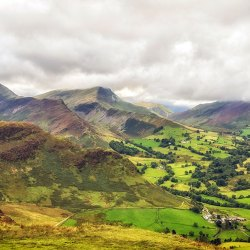 Catbells towards Highscarth and Robinson