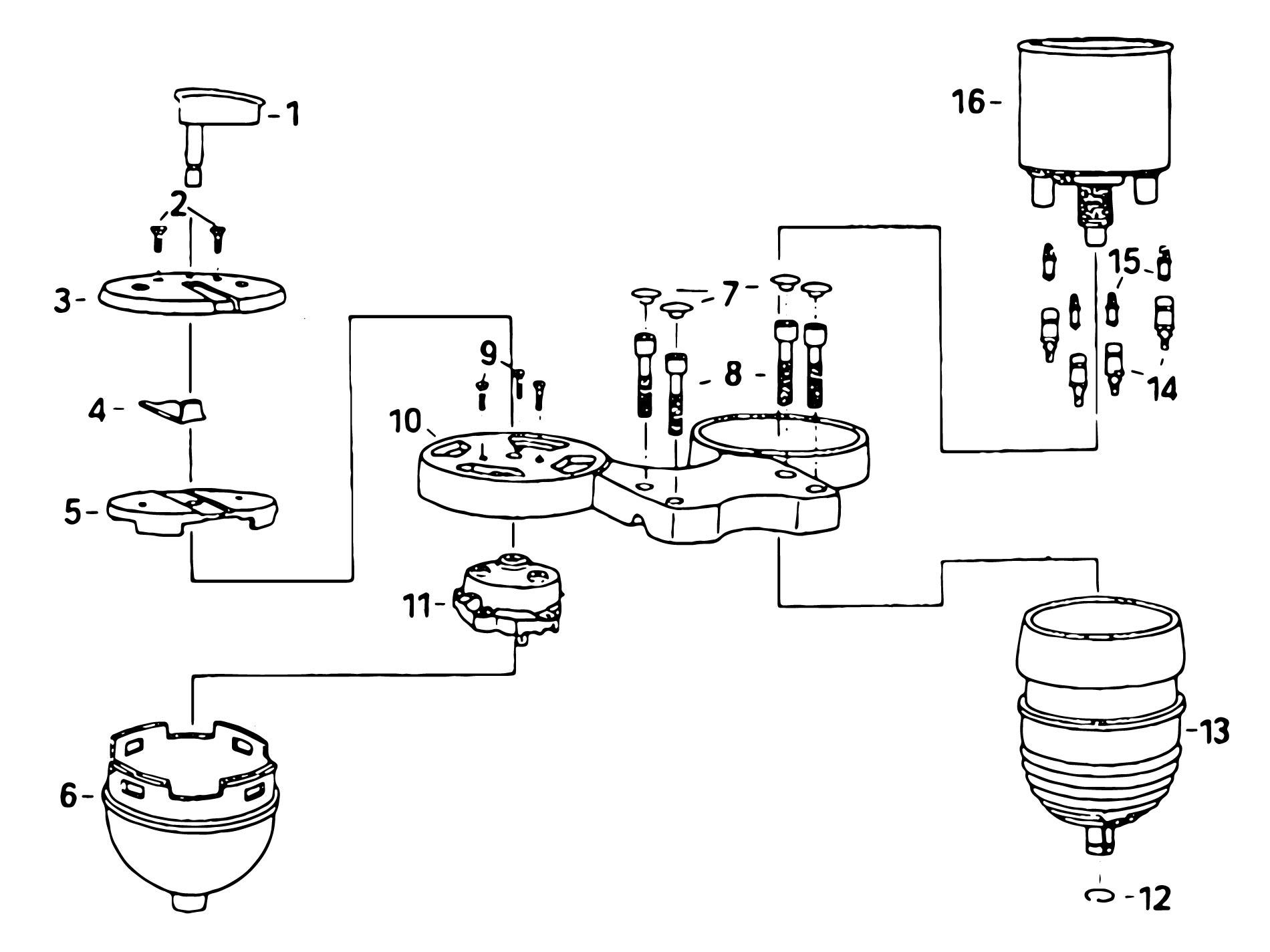 MZ ETZ 150 Instrumente Standardausführung