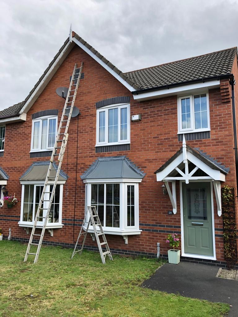 Exterior Painting to Facia, Soffits & Gutters Urmston