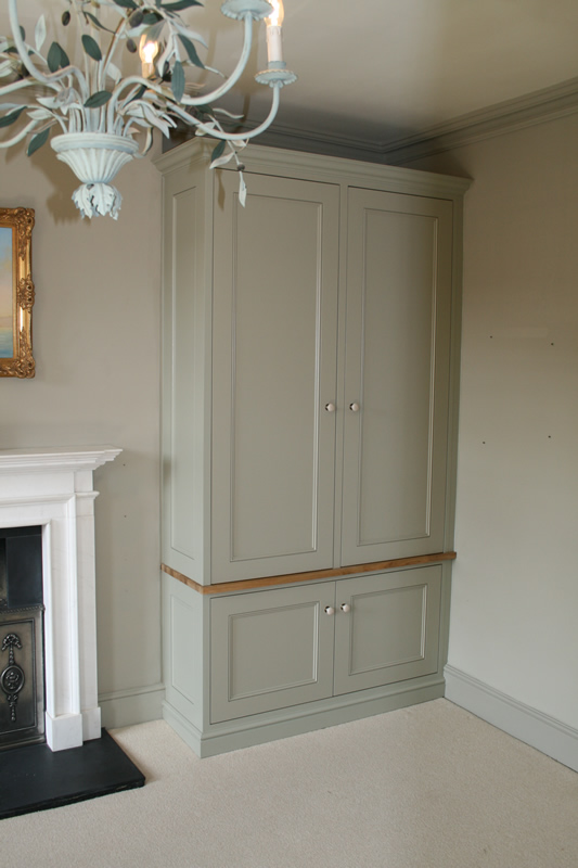 Fitted Alcove Units Bespoke Carpentry  Walton Weybridge Claygate Thames Ditton Cobham