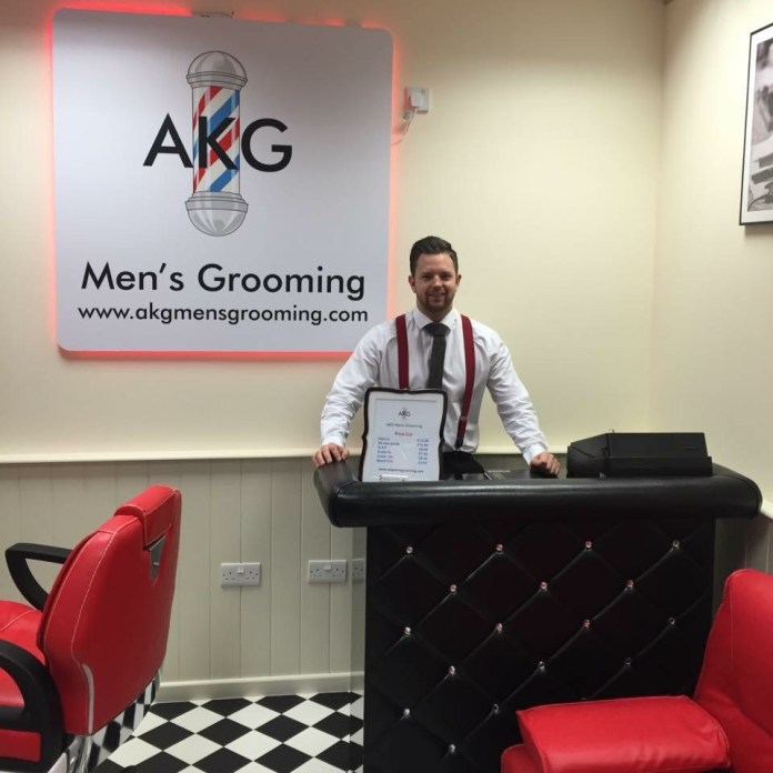 AKG MENS GROOMING SHOP
