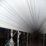 Düğün Giriş Kumaş Süslemesi