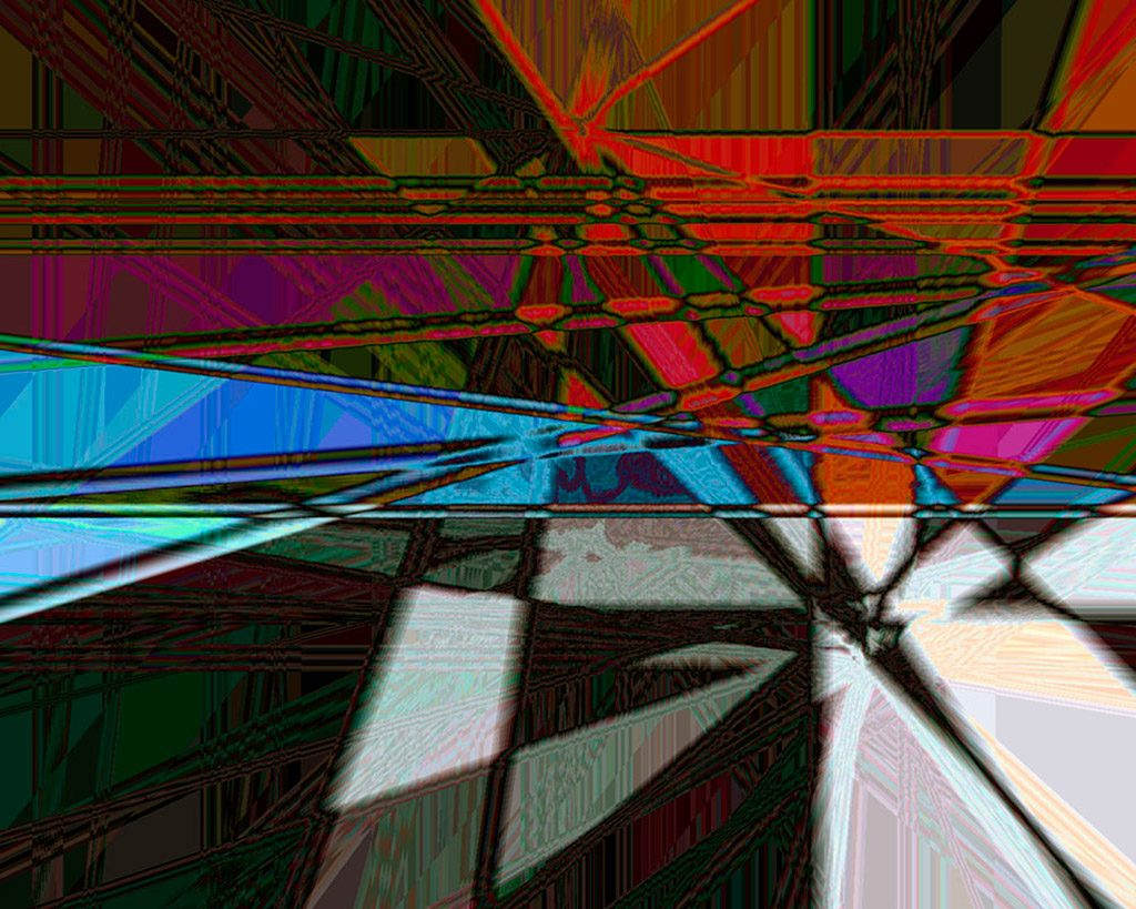 abstract art by black