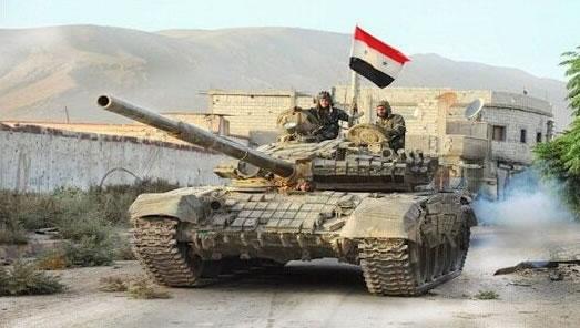 يک تانک ارتش سوريه