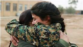 رزمندگان کرد در عفرين