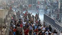 ادامه ی اعتراضات در عراق