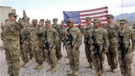 نيروهای آمريکايی در افغانستان