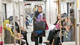 زنان دستفروش مترو تهران