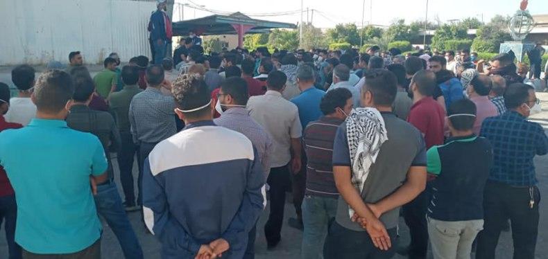 هشتمین روز اعتصاب کارگران هفت تپه