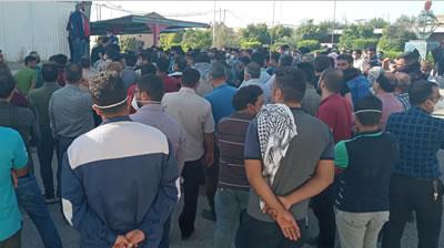 هشتمين روز اعتصاب کارگران هفت تپه
