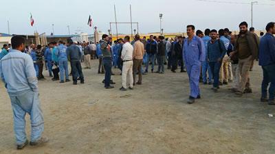 اعتصاب کارگران نفت و گاز و پتروشیمی