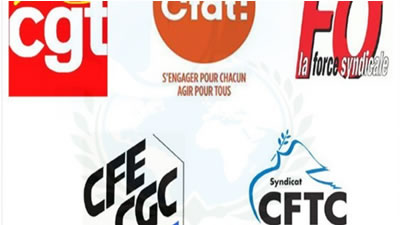 سنديکاهای فرانسوی