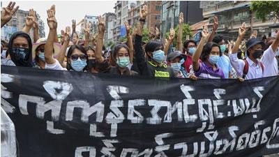 آنگ سان سوچی و کودتای نظامیان در میانمار - سخنگوی حزب کمونیست برمه، برگردان: ب. دیدار