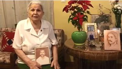 فیلمی از شعر خوانی مادر شریفی (خانم پورانداخت مختاری)