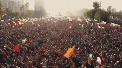تجمع هزاران نفری در شیلی در دومین سالروز اعتراضات ضد دولتی