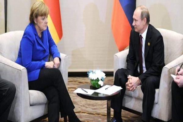 في ذكرى دحر النازية.. بوتين وميركل يؤكدان الدعم المتبادل في الحرب ضد كورونا
