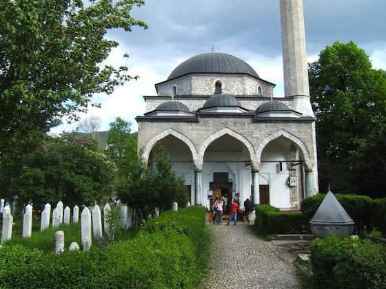 Ali Pasha Mosque in Sarajevo  Bosnia and Hercegowina