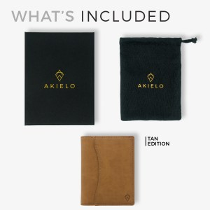 AKIELO Oscar gifts for men gift box and cotton bad