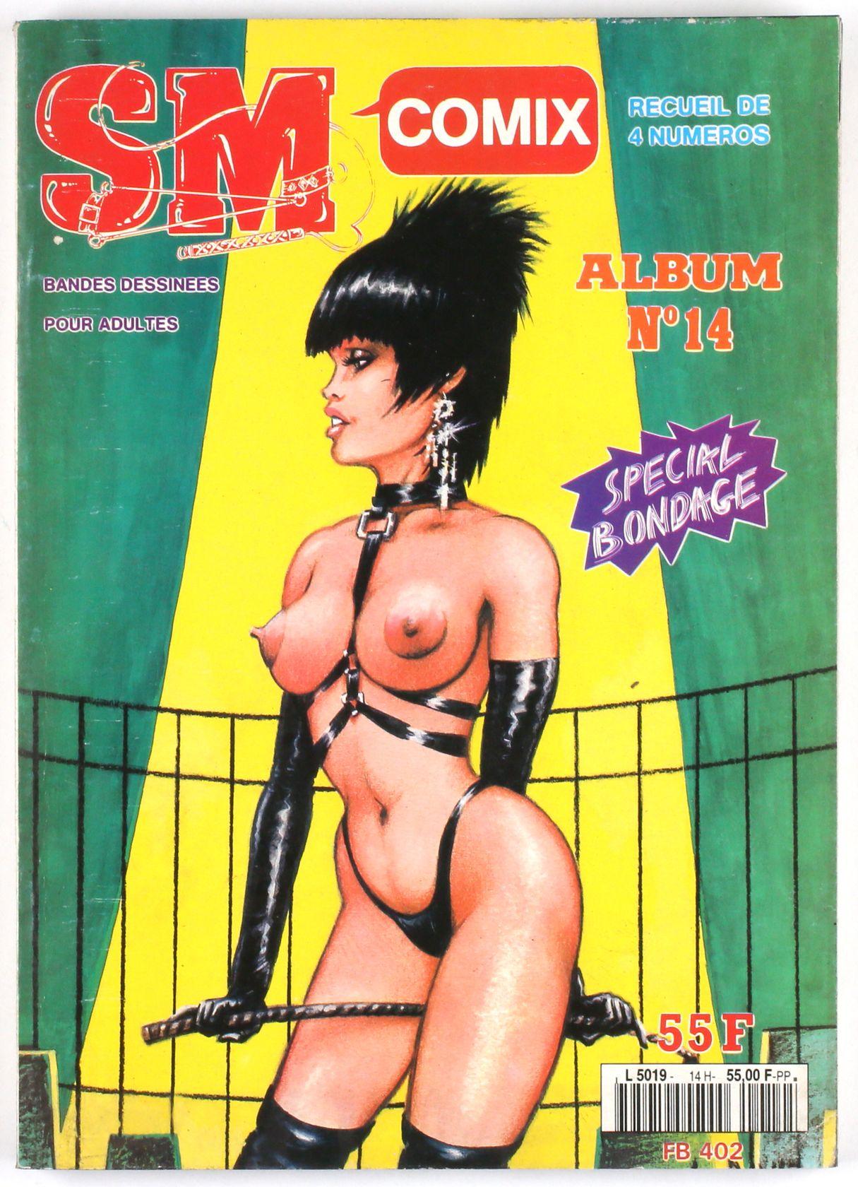 SM Comix N°14, Recueil de 4 numéros Special Bondage-0